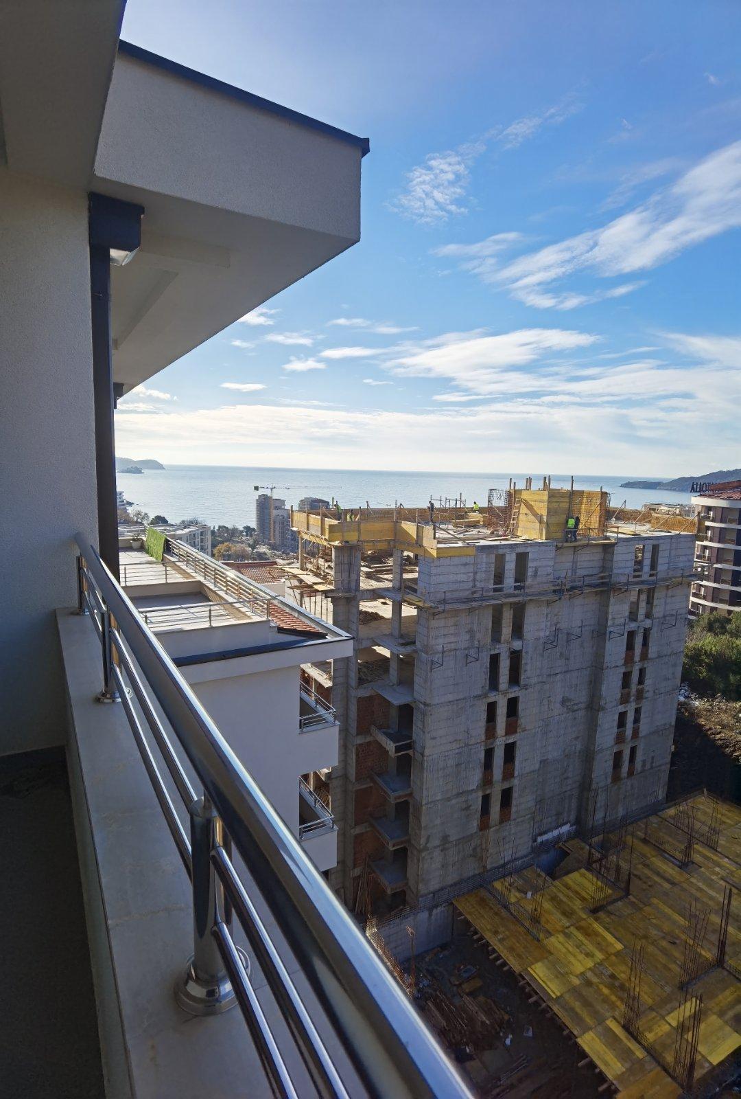 amforaproperty.com/Jednosoban stan 42 m2  pogled na more, Bečići