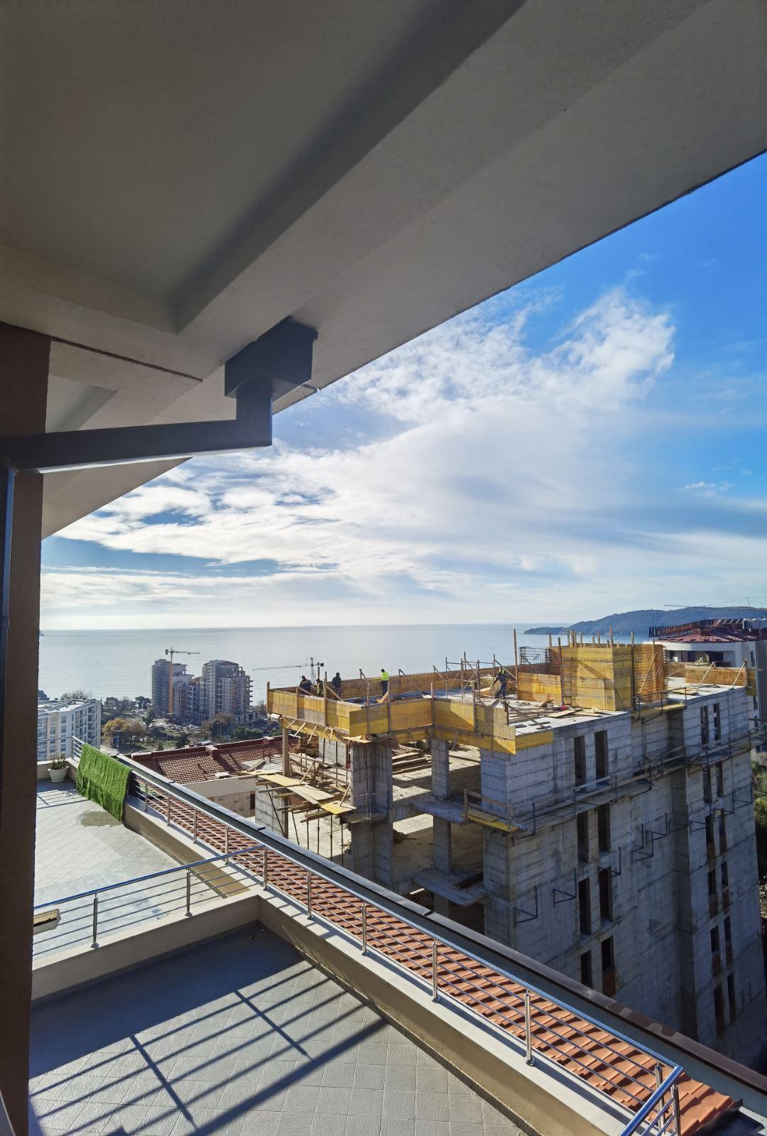 amforaproperty.com/Jednosoban stan sa pogledom na more, Akacia – Bečići