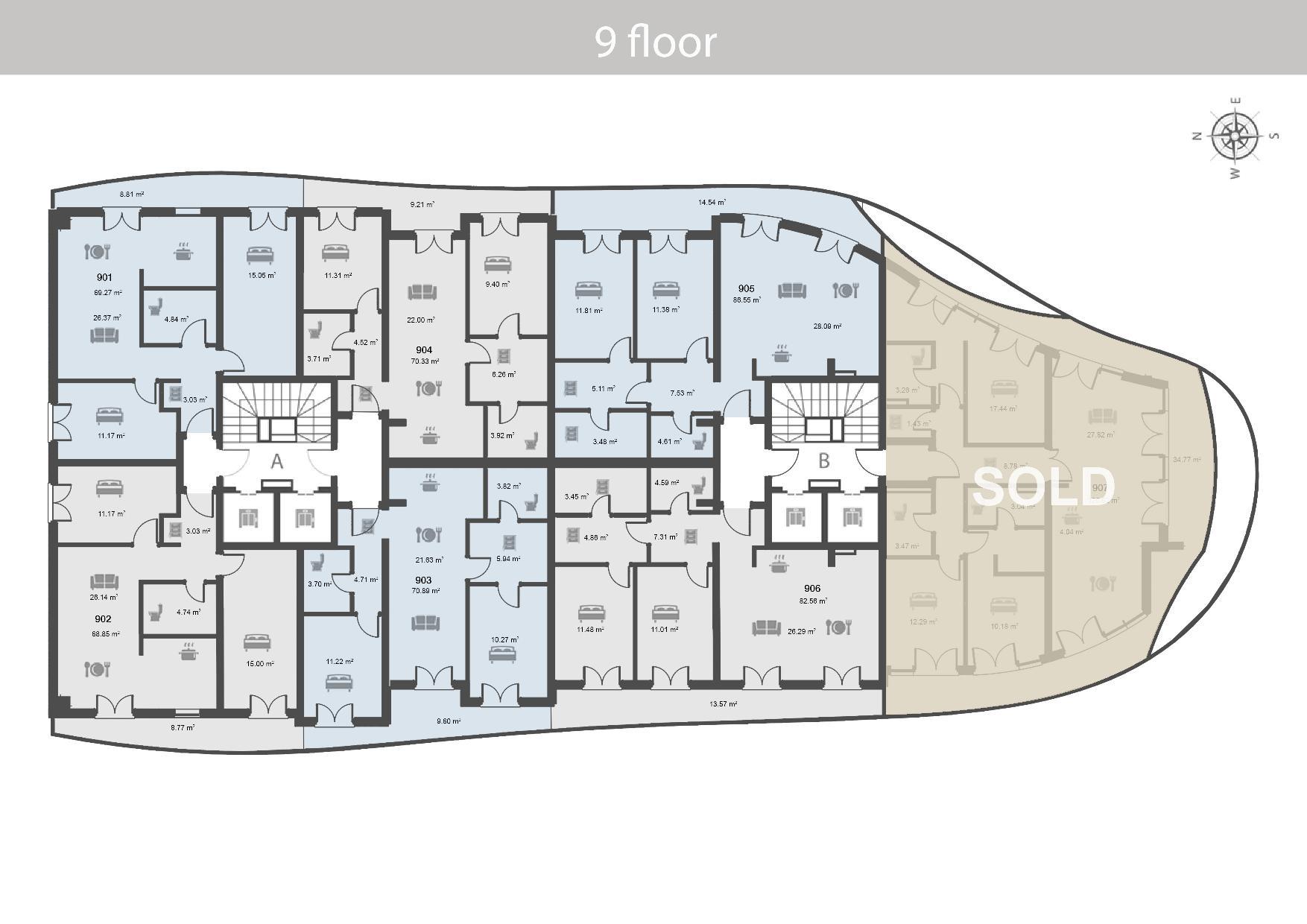 amforaproperty.com/SKYLINE  Resort Bečići – prodaja eksluzivnih apartmana u blizini obale!